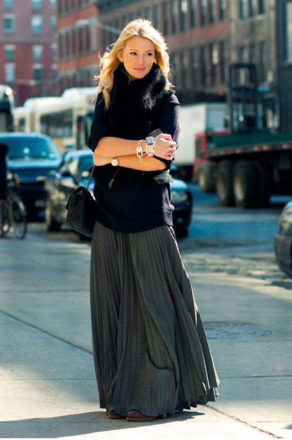 falda plisada doublecloth [Cuvy Day] Acepta tu realidad