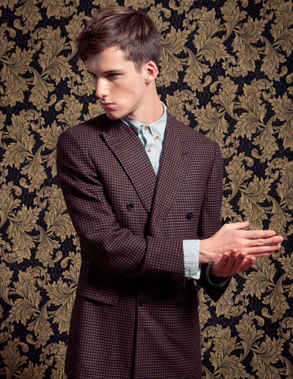 fine print doublecloth delicadeza masculina Delicadeza masculina
