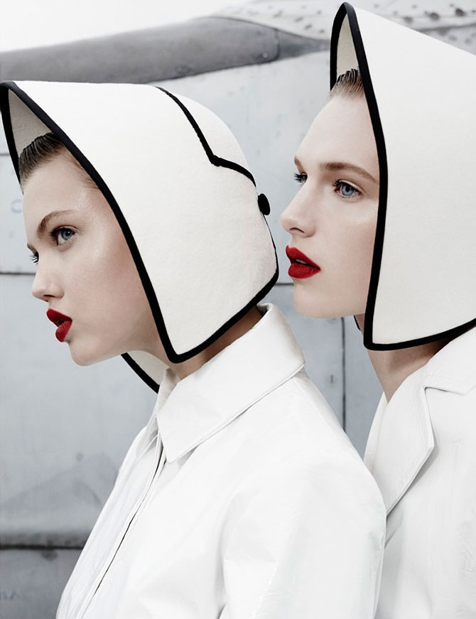 Lindsey Wixson and Ashleigh Good by Emma Summerton for W Magazine 4 Lindsey Wixson and Ashleigh Good by Emma Summerton for W Magazine