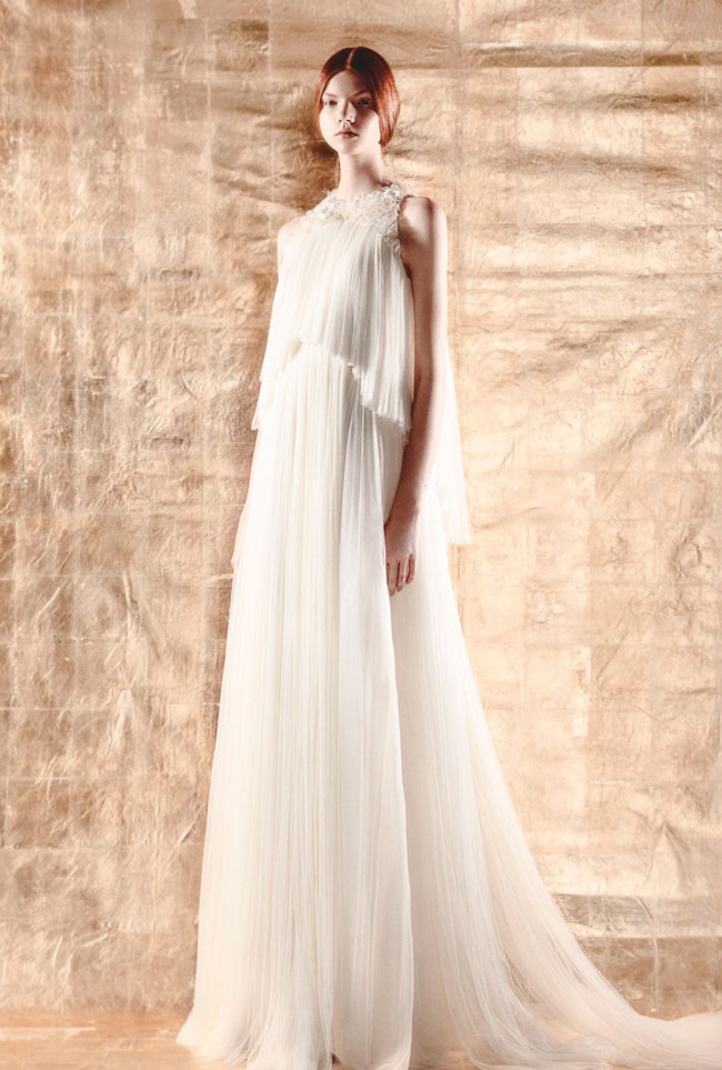 DELPOZO Bridal Capsule Collection doublecloth DELPOZO Bridal Capsule Collection