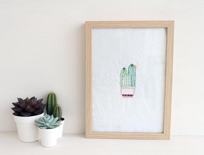 Agente Doble-bordados-cactus-doublecloth