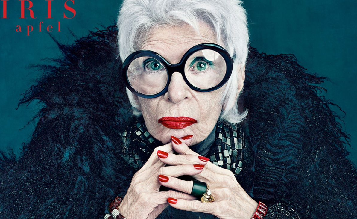 Iris Apfel Documentary-doublecloth