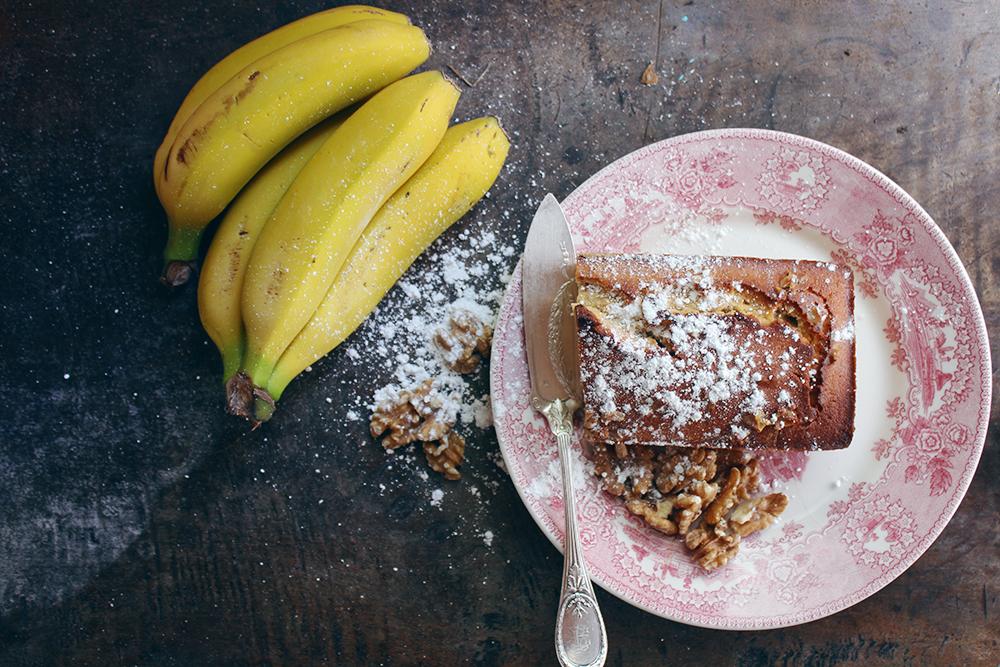 Bizcocho de plátano y nueces-2