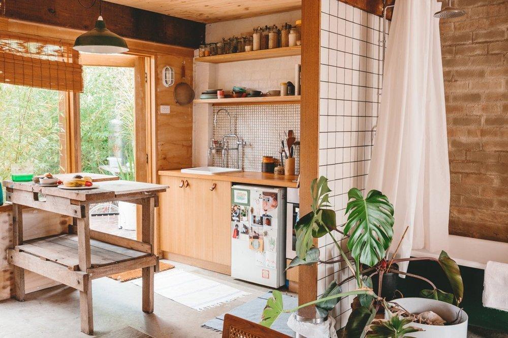 Una casita con jard n for Casitas con jardin