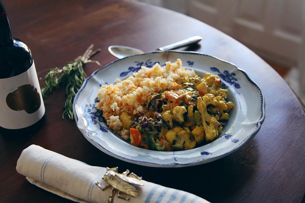 Curry de coliflor y lombarda_LadyVegan-2