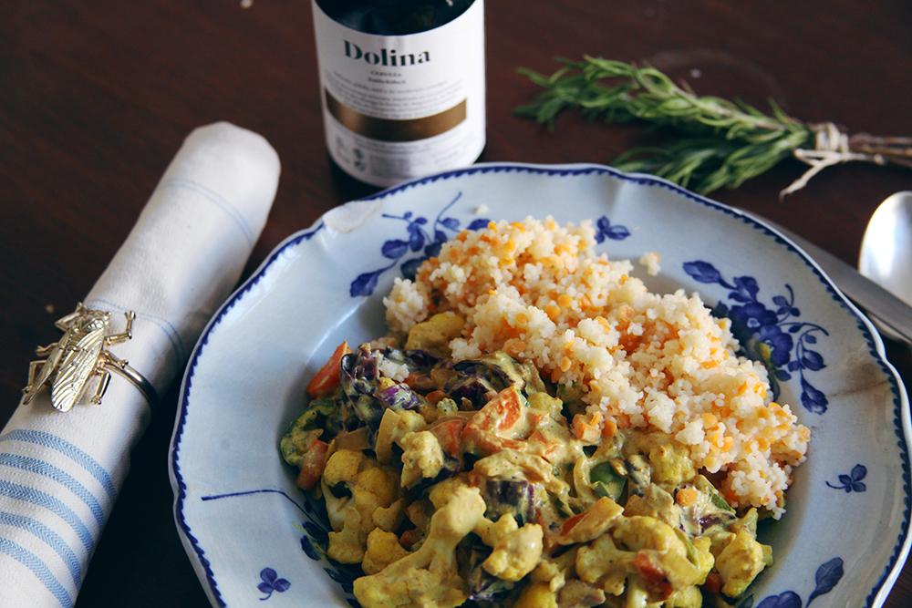 Curry de coliflor y lombarda_LadyVegan-4