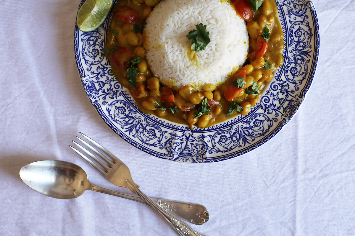 pochas al estilo indio-ladyvegan-recetas veganas