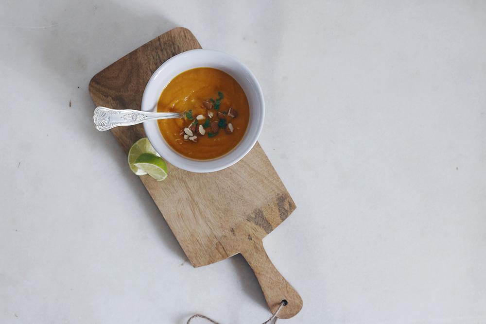 Crema thai de zanahoria y batata-3