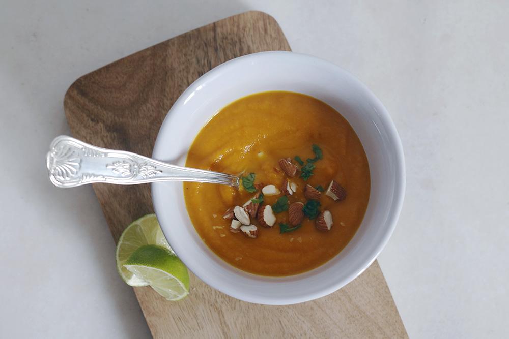 Crema thai de zanahoria y batata-4