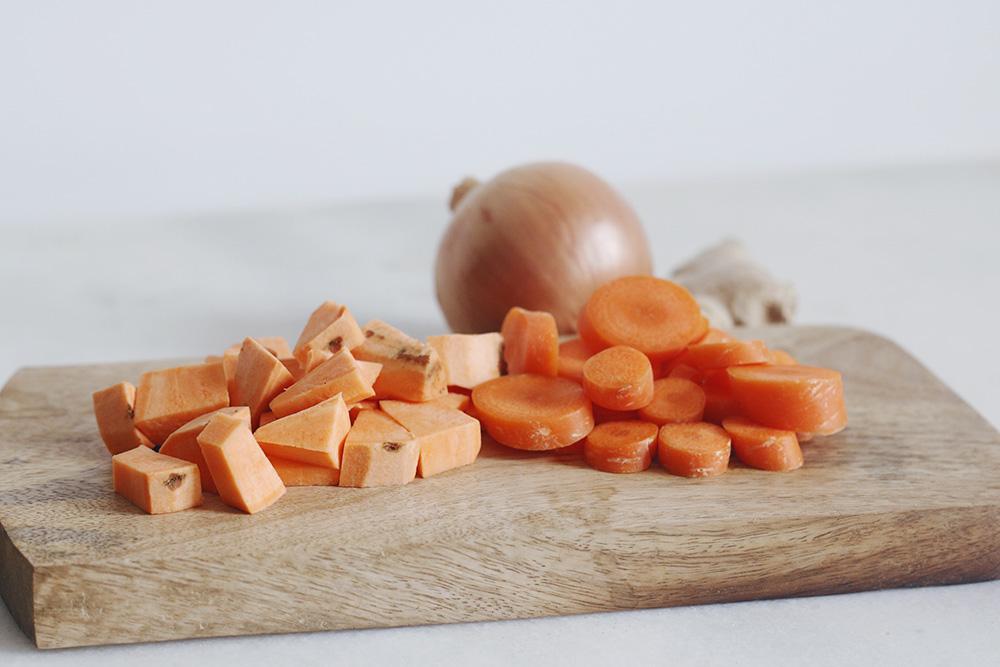 Crema thai de zanahoria y batata-5
