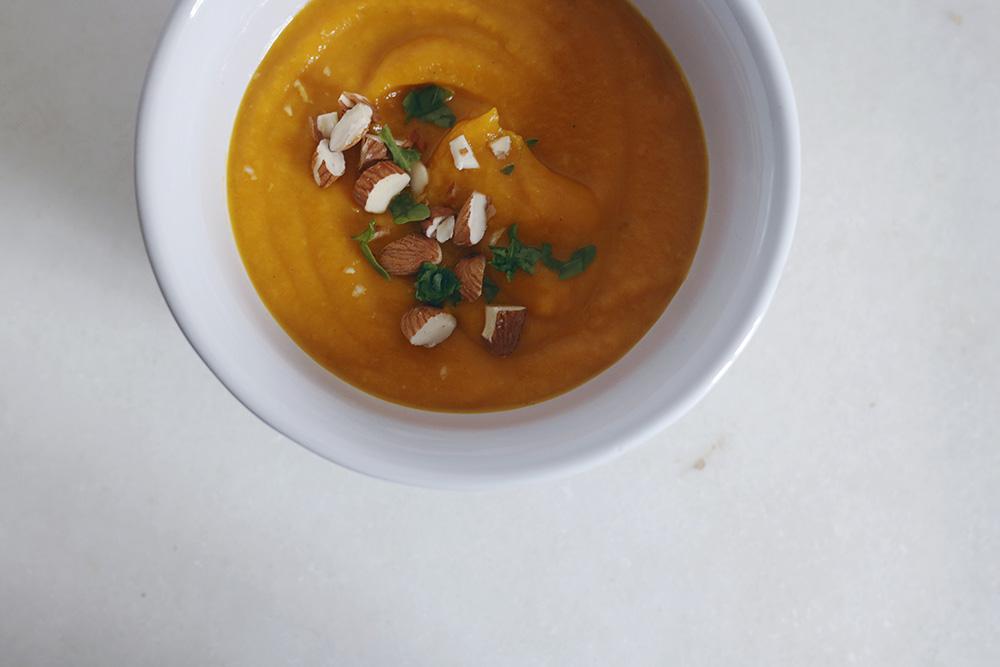 Crema thai de zanahoria y batata-9