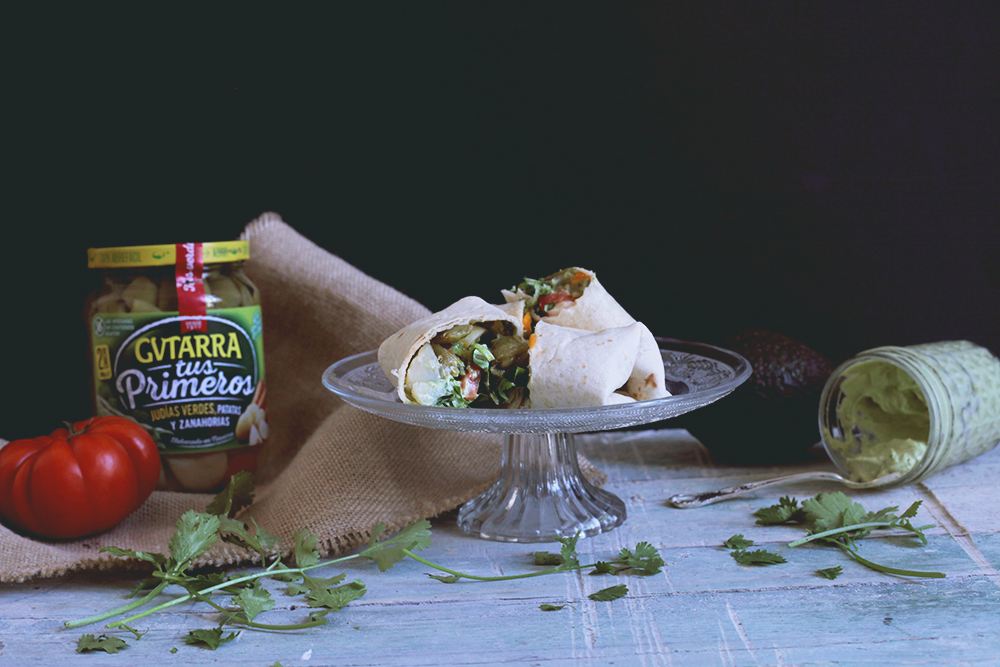 Wrap Vegetales